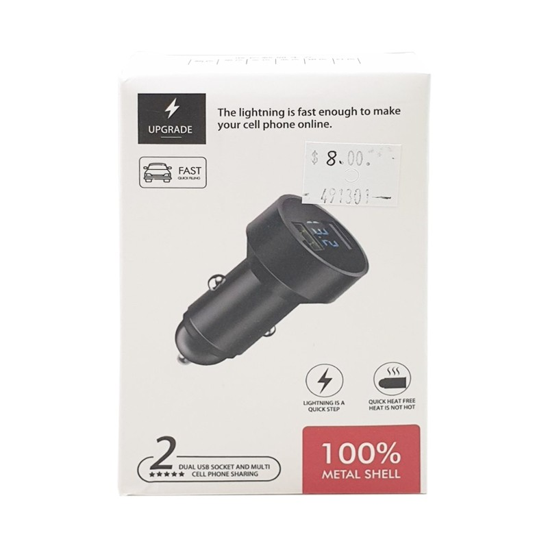 Dual USB Socket and Multi Cell Phone Sharing Car Charger