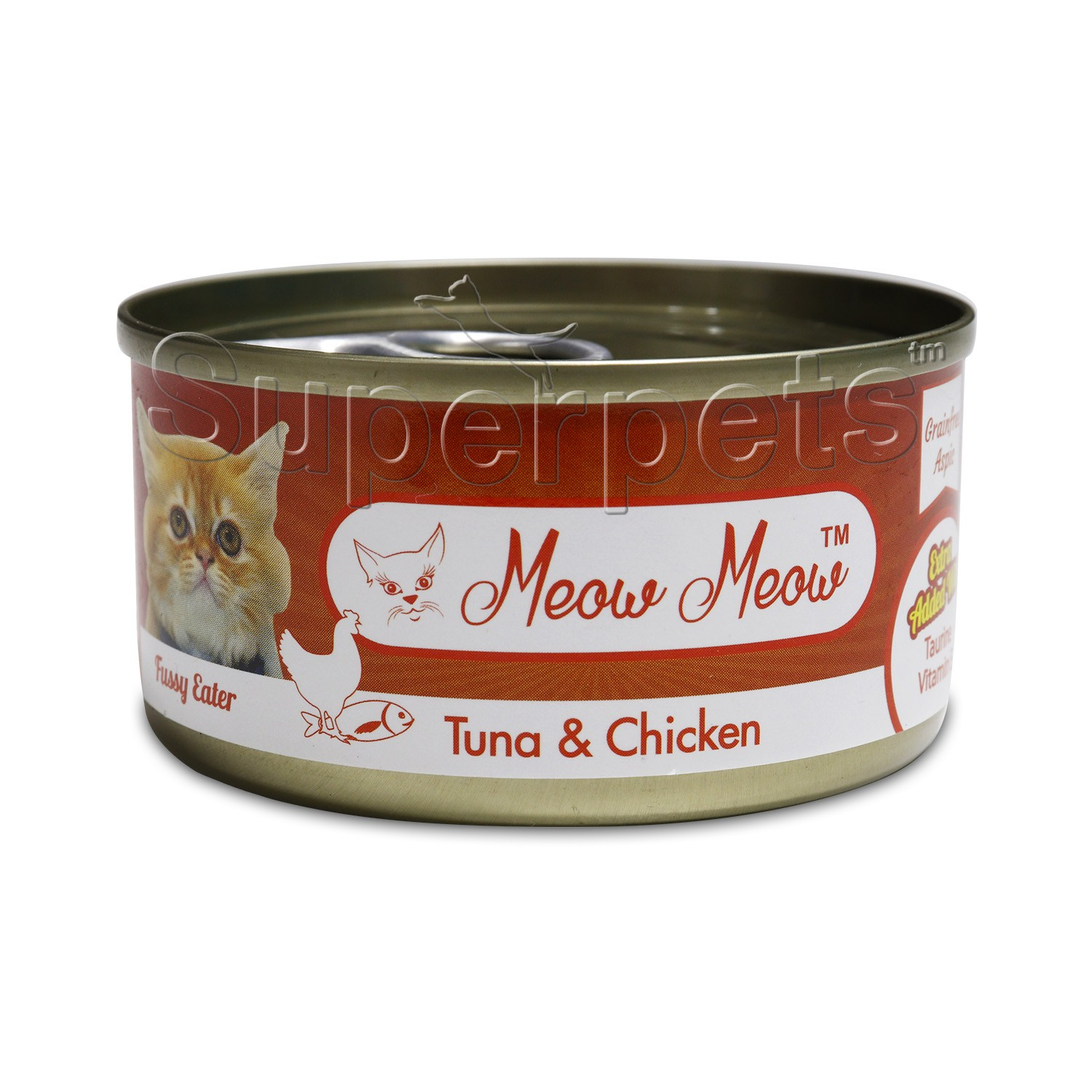 Meow Meow – Tuna & Chicken – Grain Free 80g