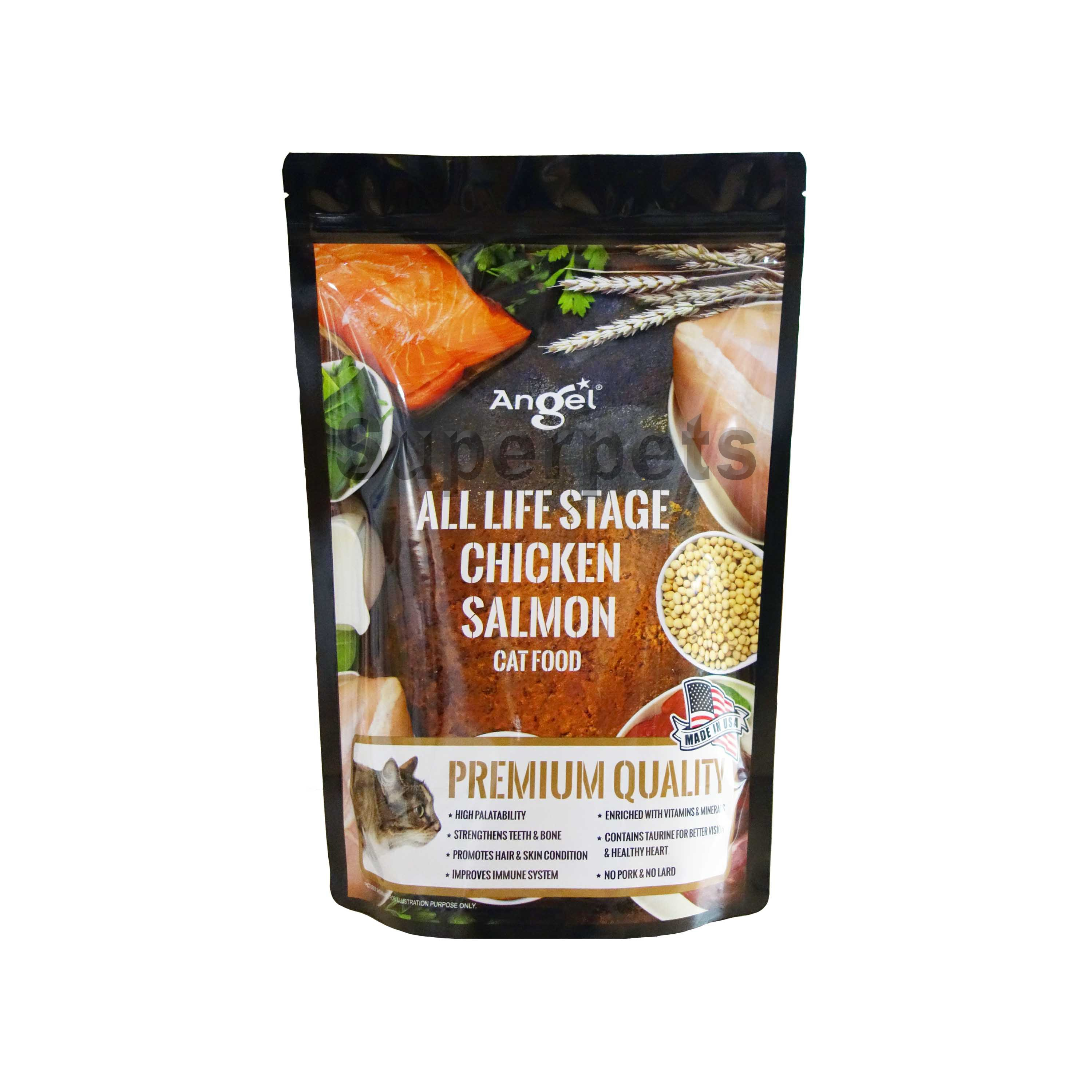 Angel All Life Stage Chicken & Salmon Cat Food 1.1kg