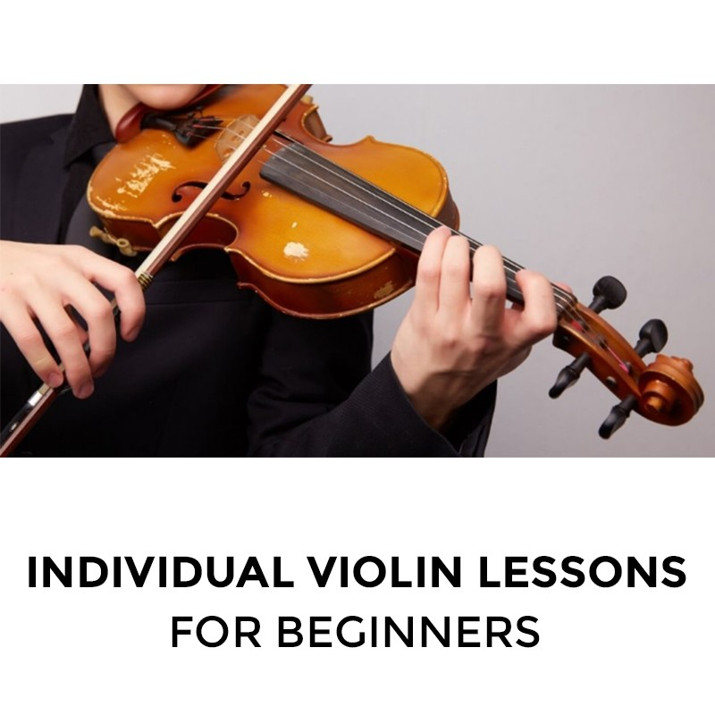 Individual Violin Lessons for Beginners