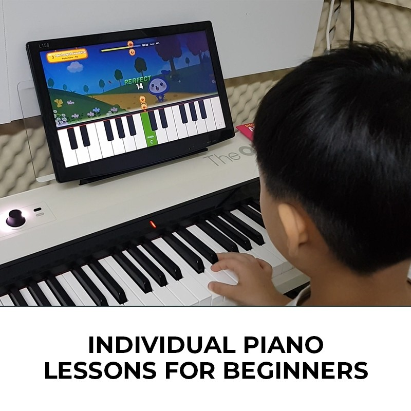 Individual Piano Lessons for Beginners