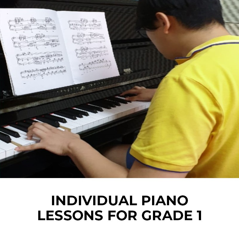 Individual Piano Lessons for Grade 1