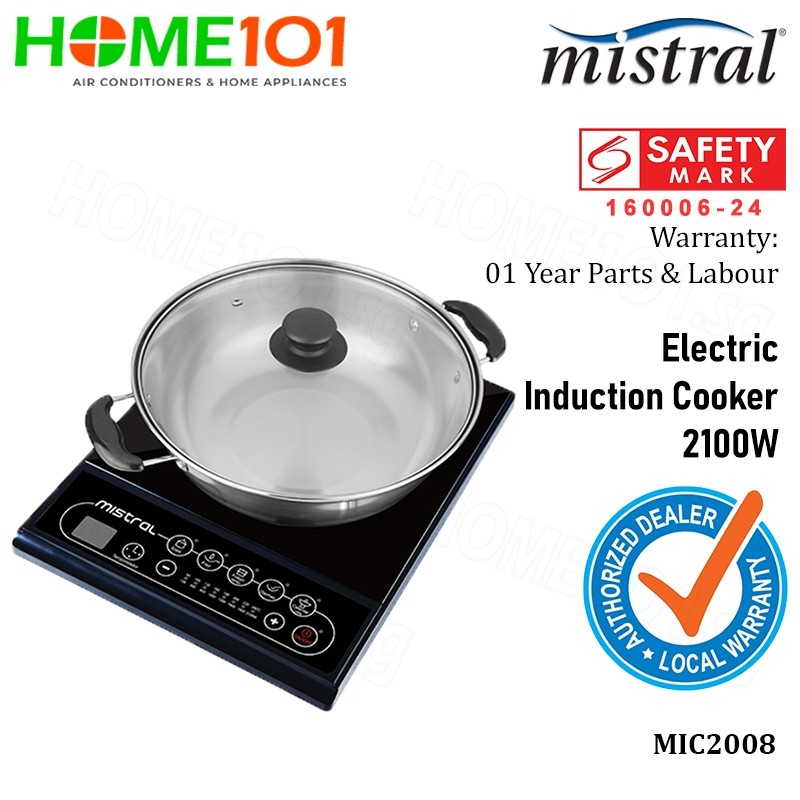 Mistral Electric Induction Cooker 2100W MIC2008